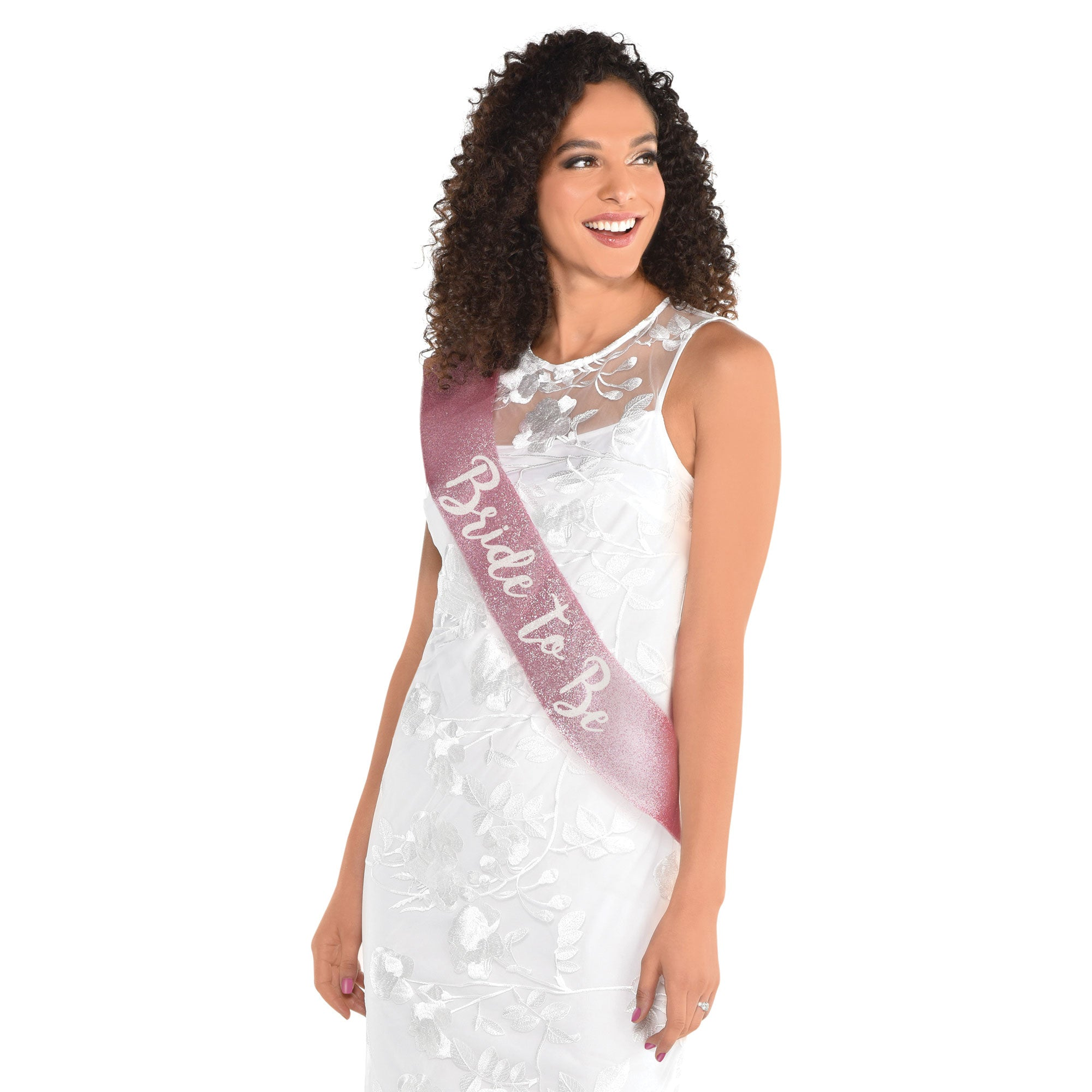 Bride To Be Deluxe Fabric Sash - Party Savers