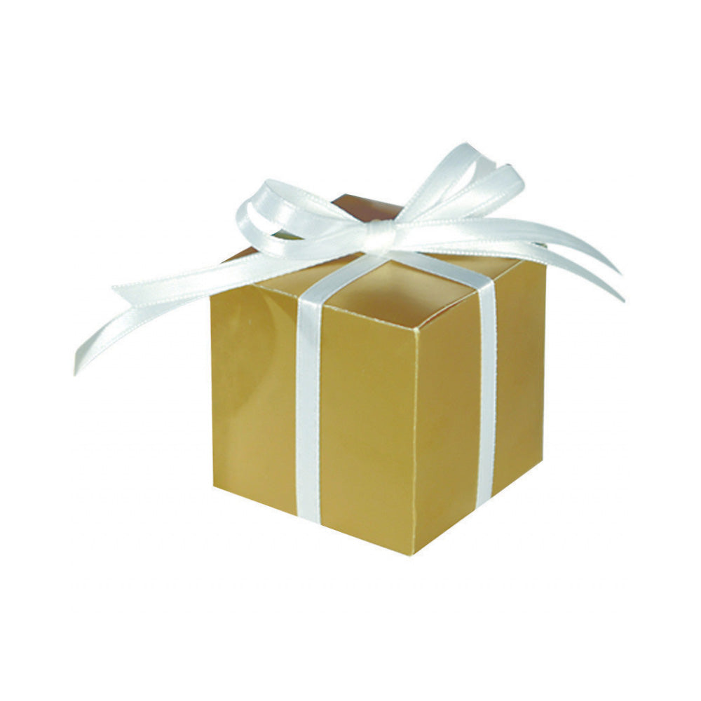 Gold Mega Pack Paper Favor Box 100pk - Party Savers