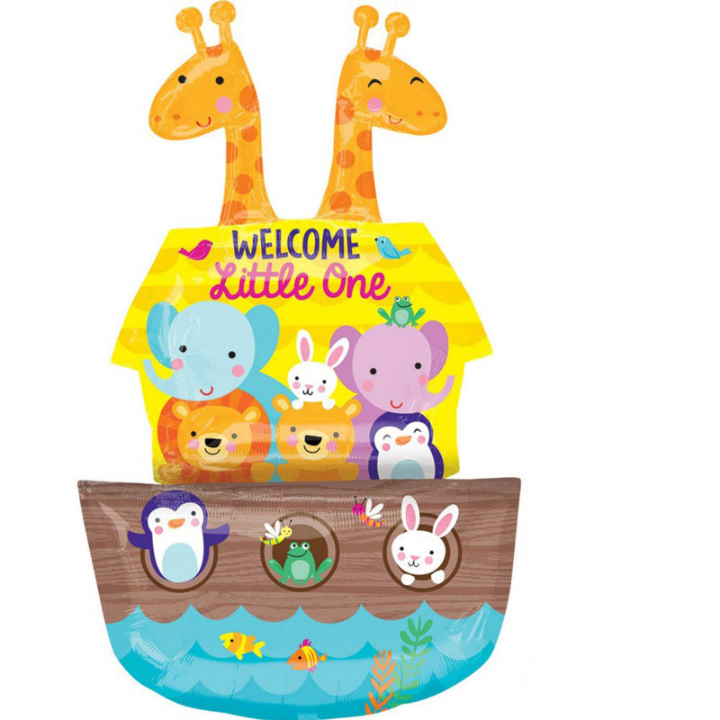 Baby Shower Noah's Ark Multi-Balloon 68cm x 109cm Each - Party Savers