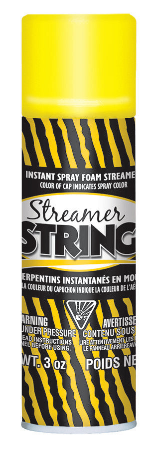 Yellow Streamer String