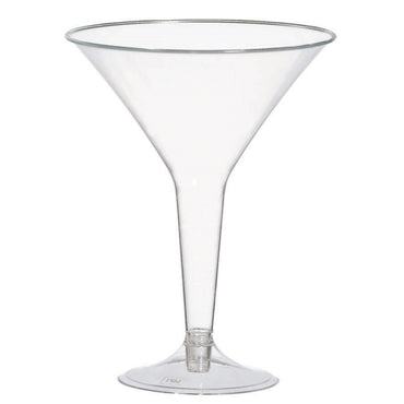 Big Party Pack Martini Glasses Clear 20pk