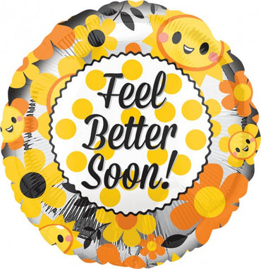 Feel Better Happy Foil Balloon 45cm