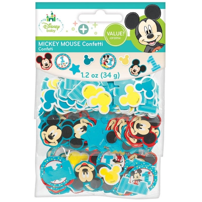 Mickey Mouse Fun To Be One Value Pack Paper Confetti - Party Savers