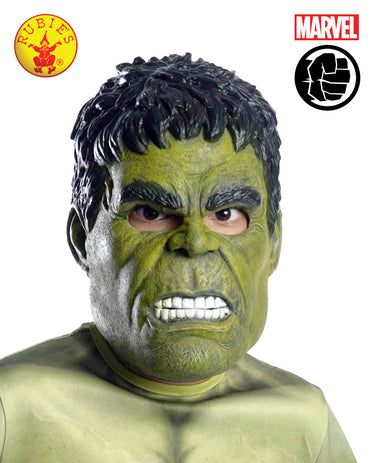 Hulk 3/4 Child Mask