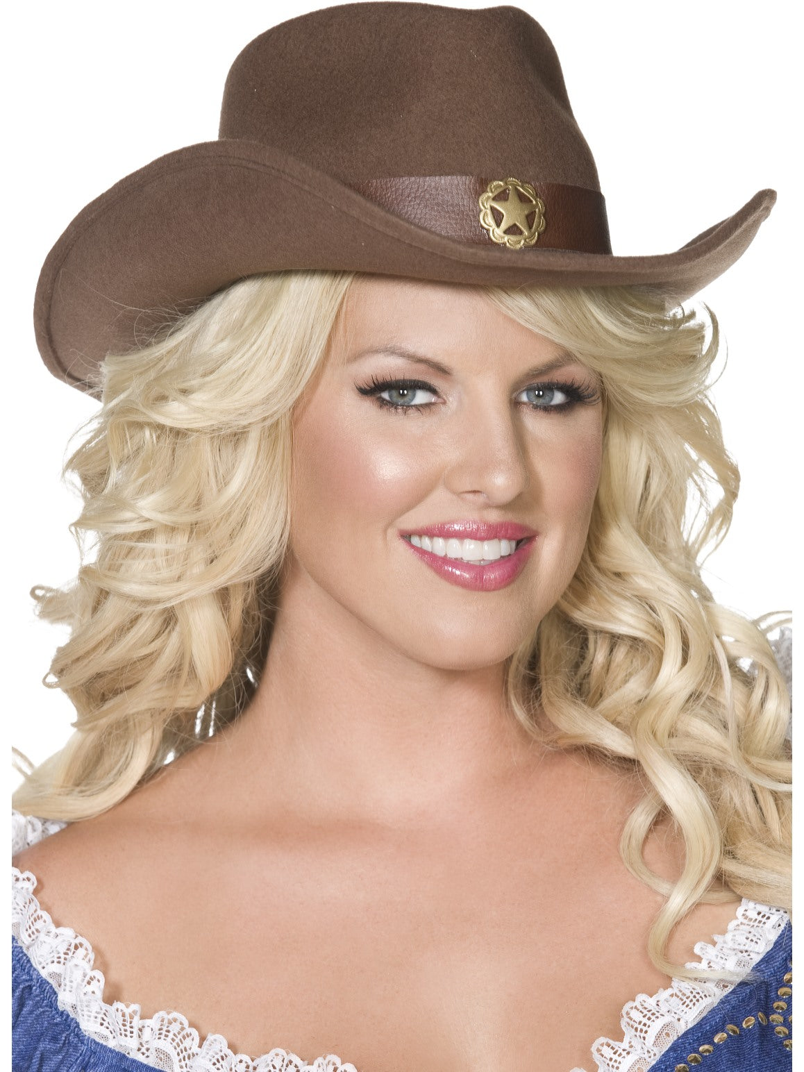 Brown Fever Wild West Cowboy Hat - Party Savers