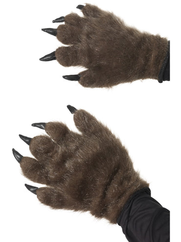 Brown Hairy Monster Hands