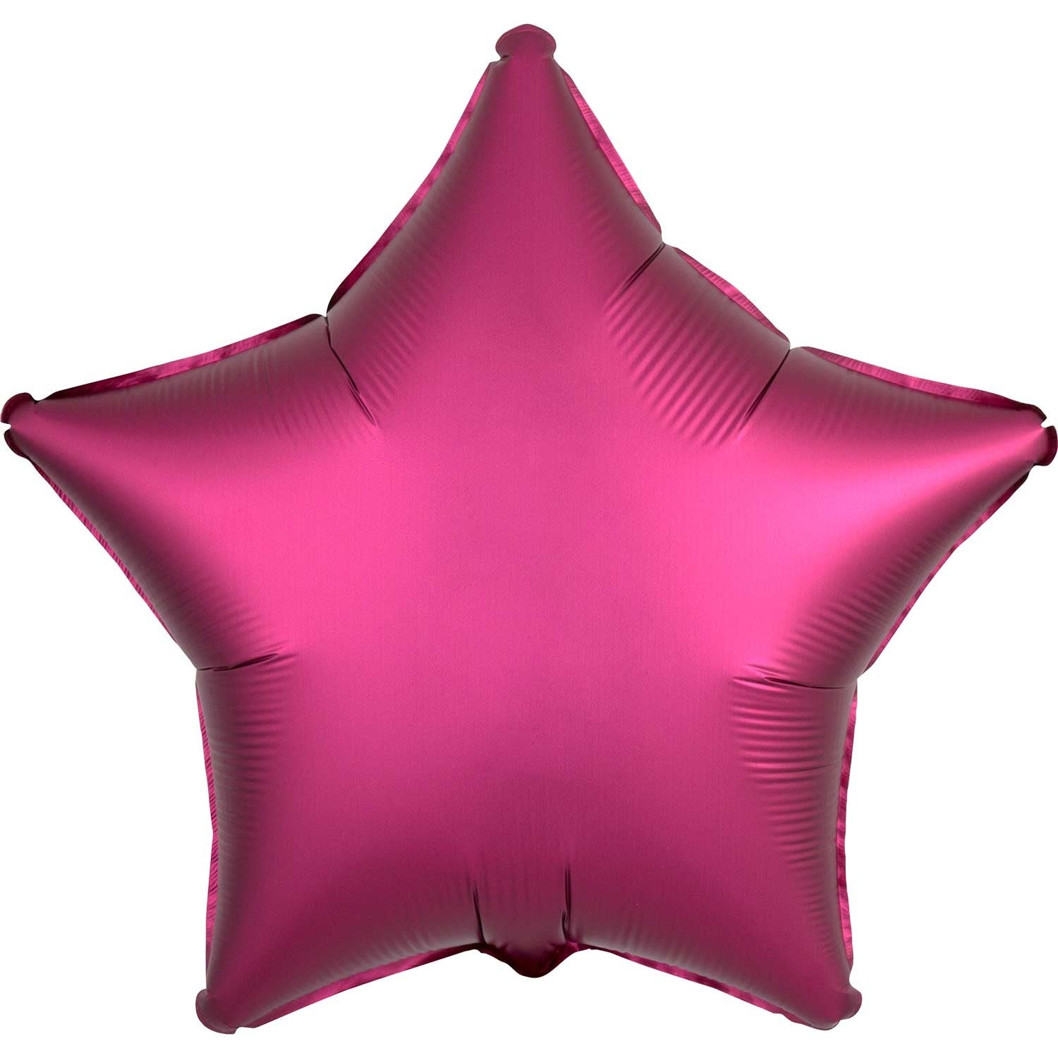 Pastel Pink Satin Star Foil Balloon 48cm - Party Savers