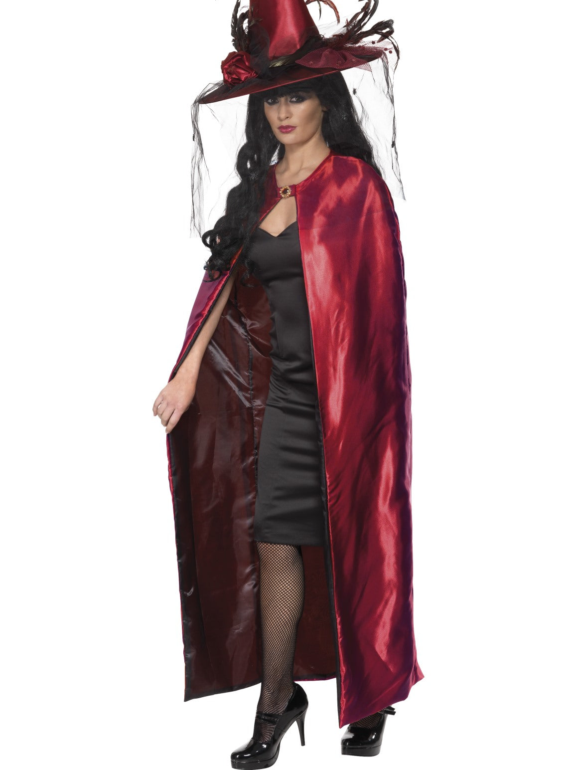 Red Reversible Cape - Party Savers