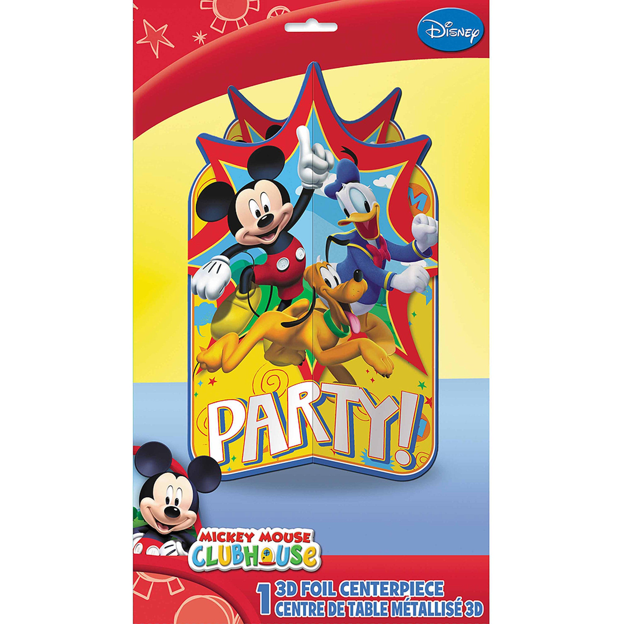 Mickey Mouse Clubhouse 3D Foil Centerpiece - Party Savers