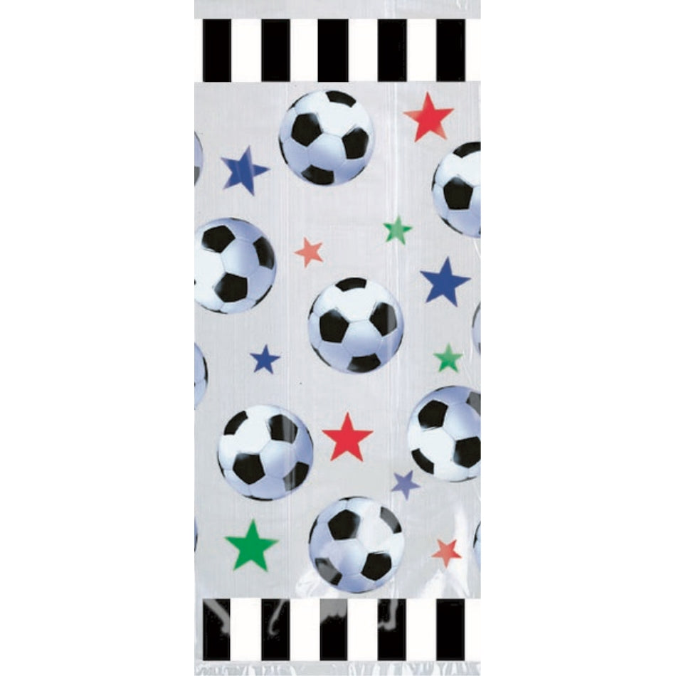 Championship Soccer Cello Party Bag 20pk - Party Savers