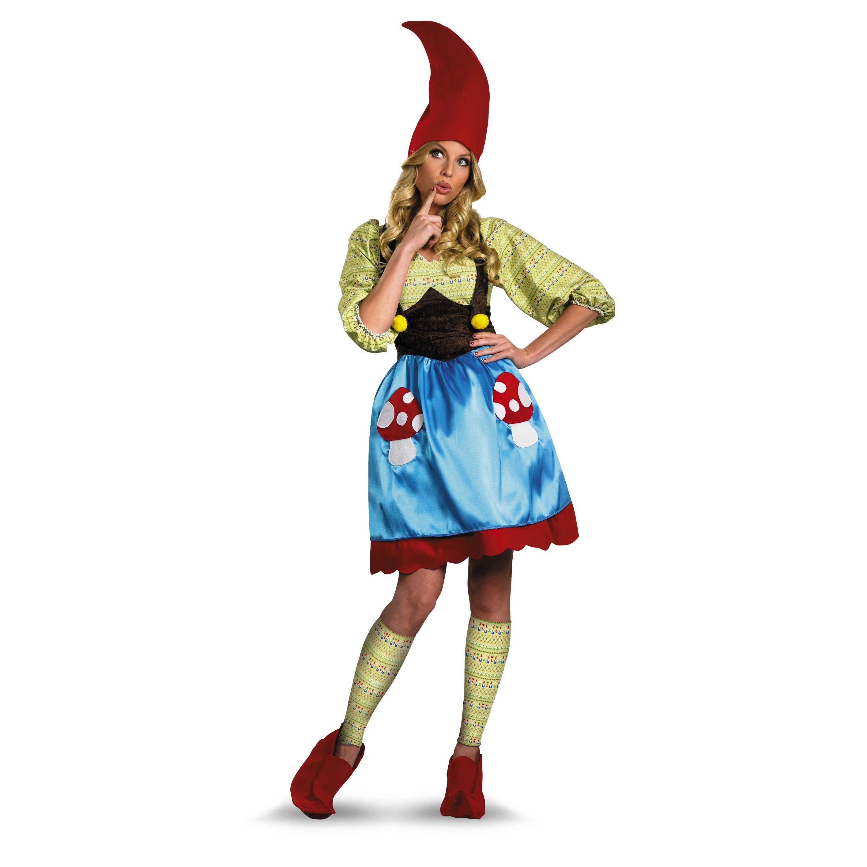 Womens Costume - Ms. Gnome Costume - Party Savers