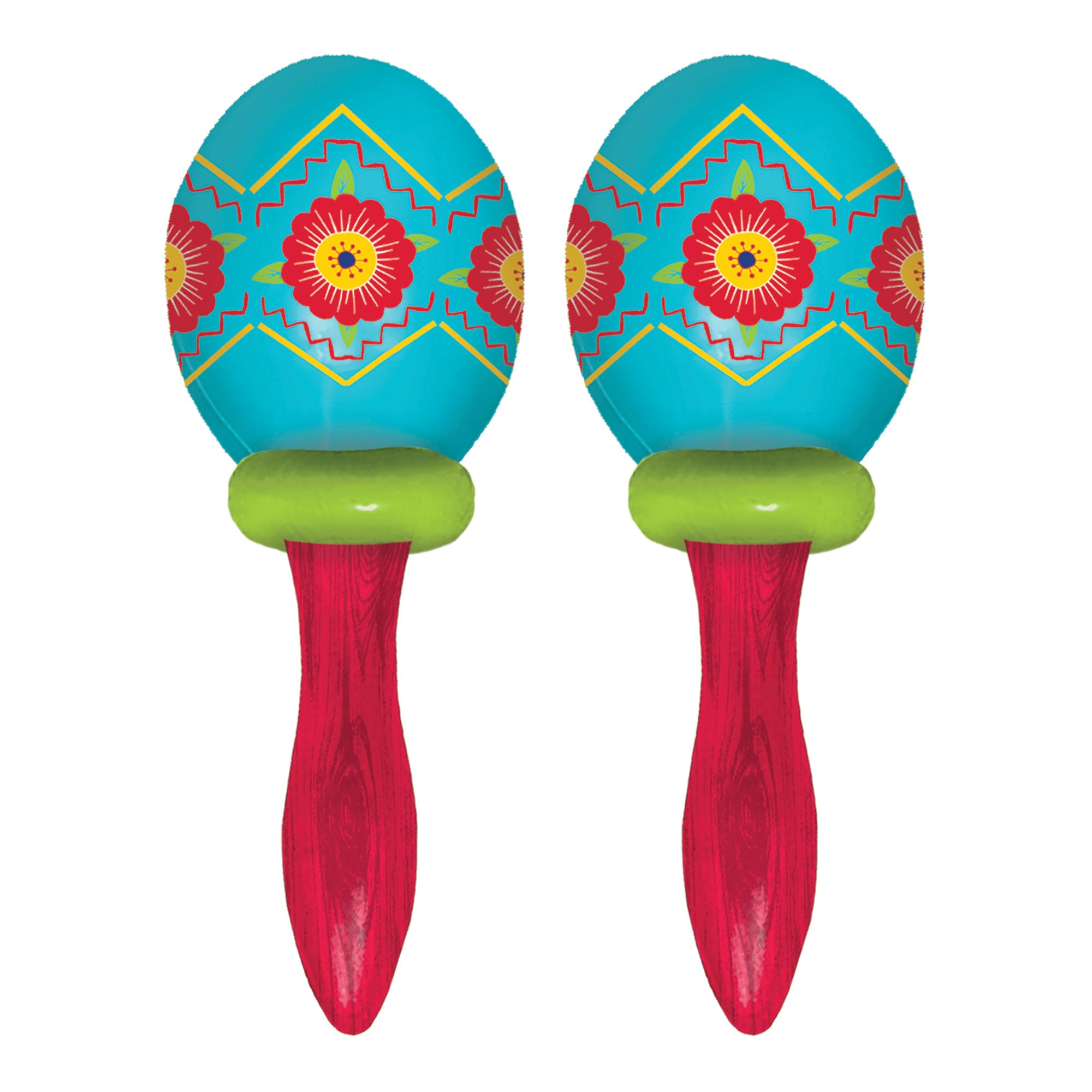 Fiesta Maracas Favors 2pk - Party Savers