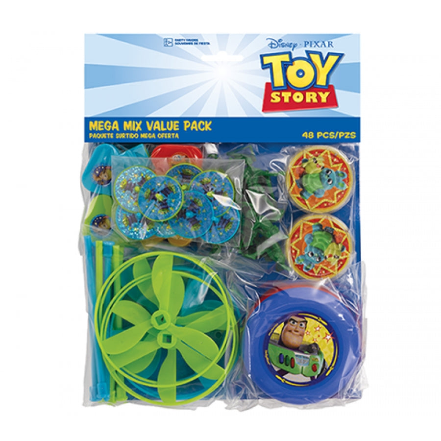 Toy Story 4 Mega Mix Favors Value Pack 48pk - Party Savers