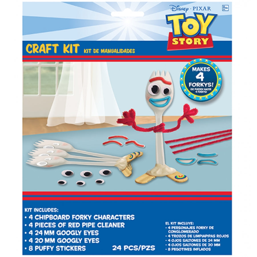 Toy Story 4 Craft Kit 4pk
