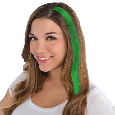 Green Hair Extensions - Party Savers