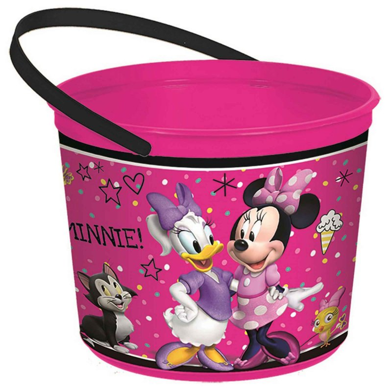 Minnie Mouse Happy Helpers Favor Container - Party Savers