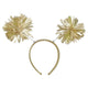 Gold Pom Pom Headbopper - Party Savers