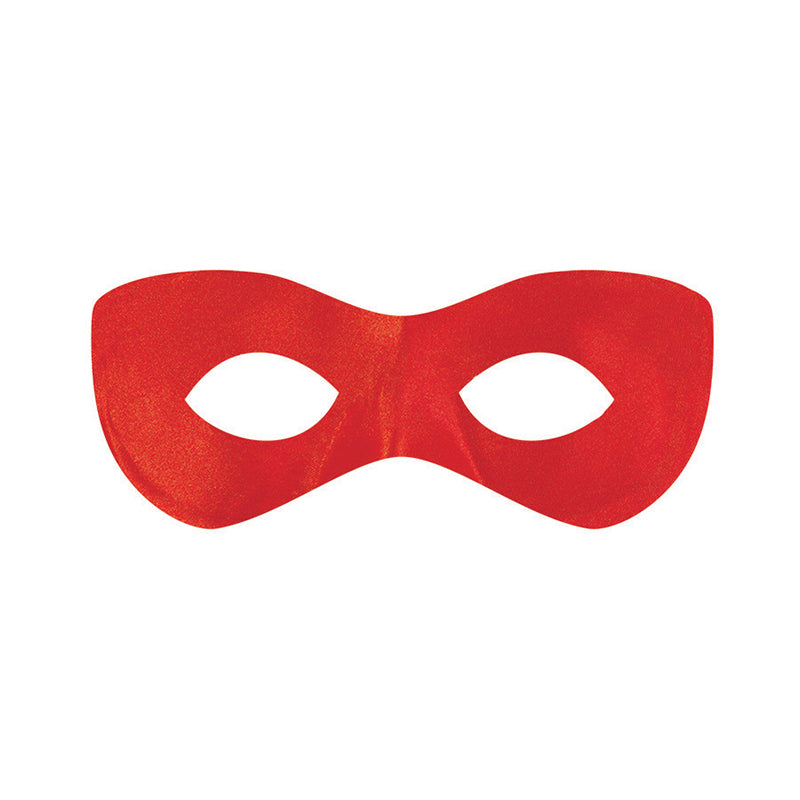 Red Super Hero Mask - Party Savers