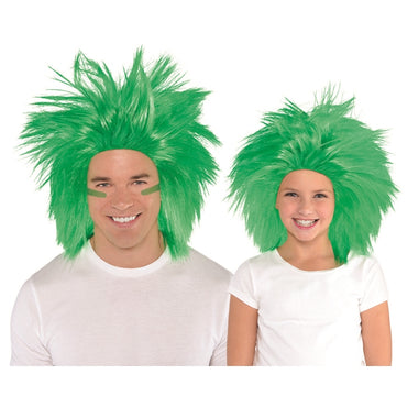 Green Crazy Wig - Party Savers