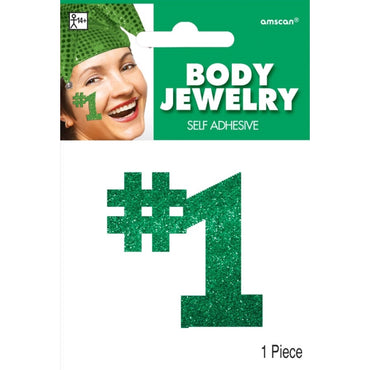 Green Body Jewelry Team Spirit - Party Savers