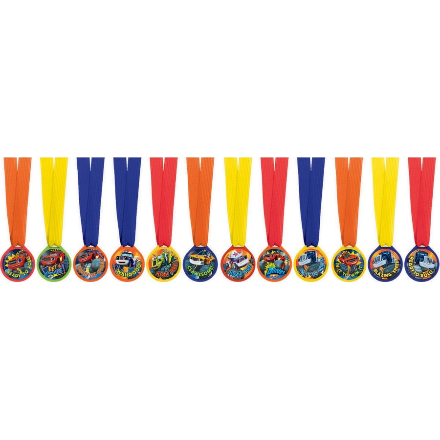 Blaze Mini Award Medal 12pk