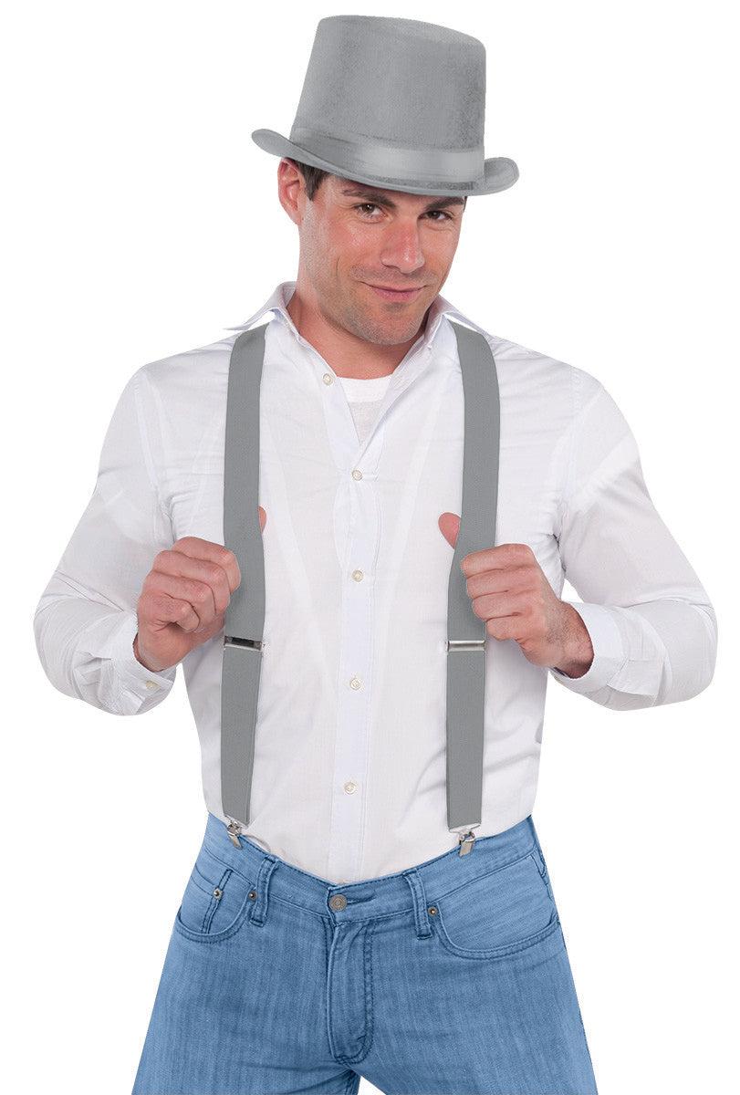 Silver Suspenders - Party Savers