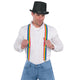 Rainbow Suspenders - Party Savers