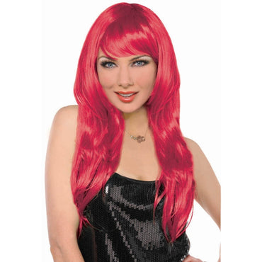 Red Glamorous Wig - Party Savers