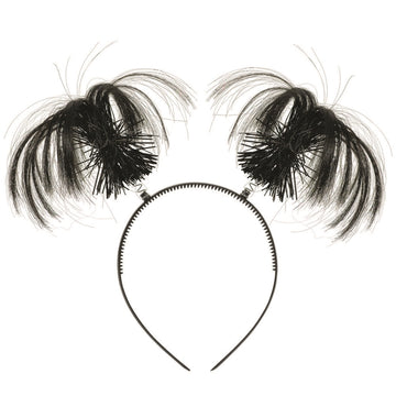 Black Ponytail Headband - Party Savers
