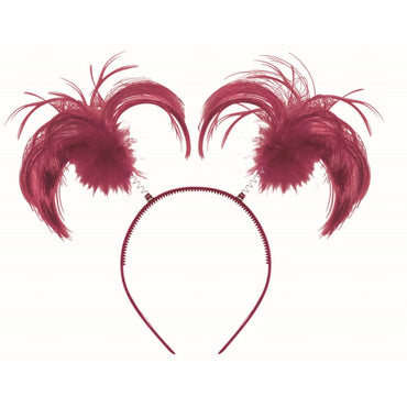 burgundy-headbopper-ponytail