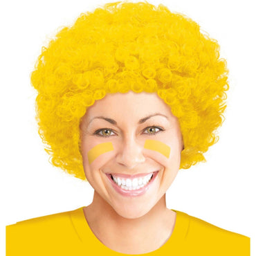 yellow-curly-wig