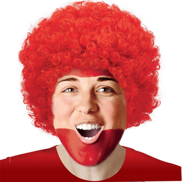 Red Curly Wig - Party Savers