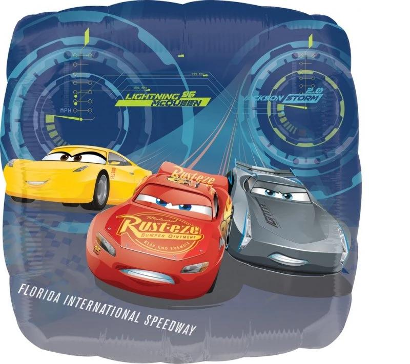 Cars Lightning & Friends Foil Balloon 45cm - Party Savers