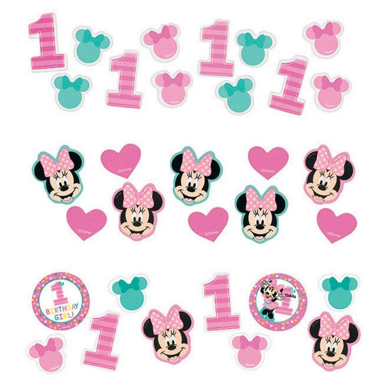 Minnie Fun To Be One Value Pack Paper Confetti 34g