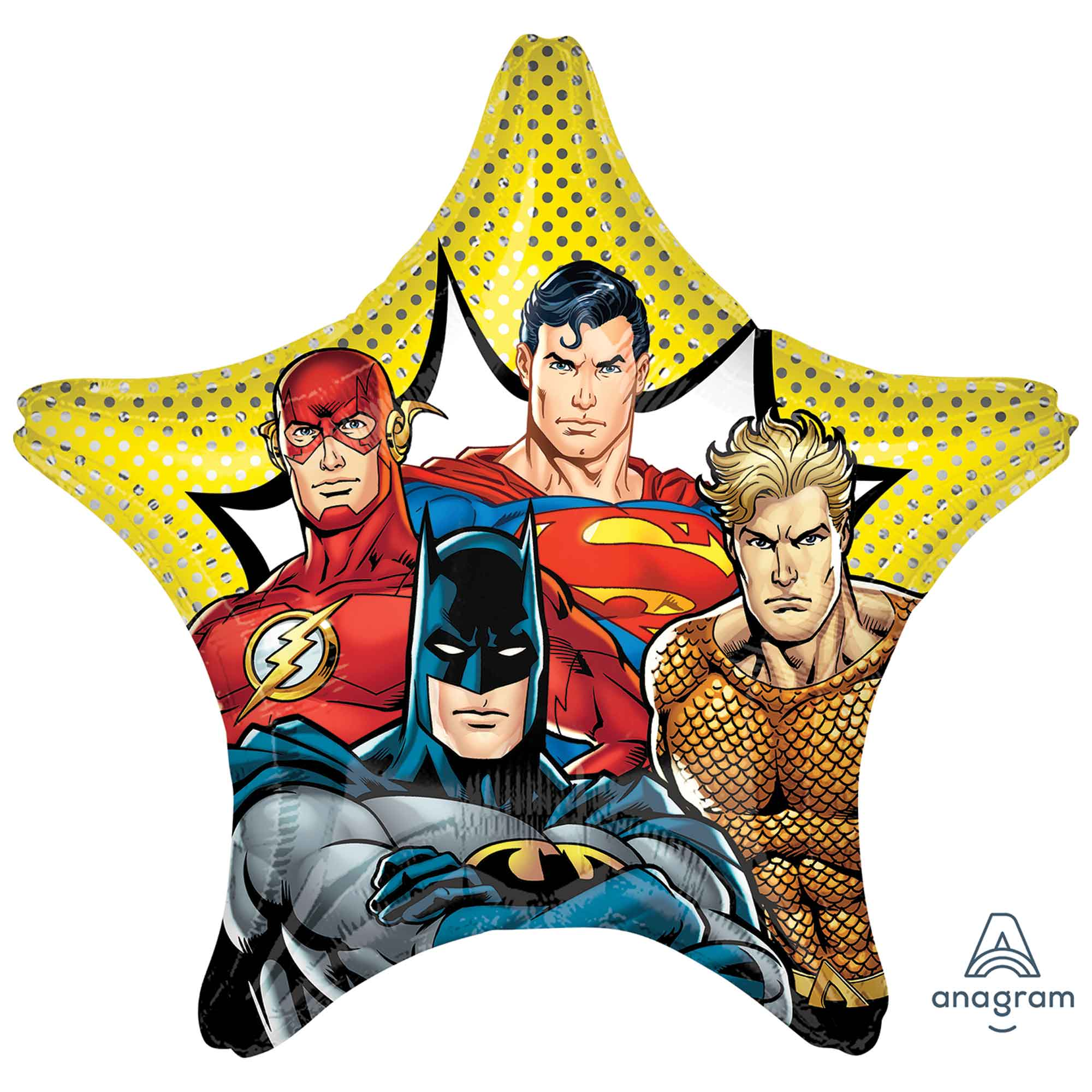 Justice League Foil Balloon 71cm - Party Savers