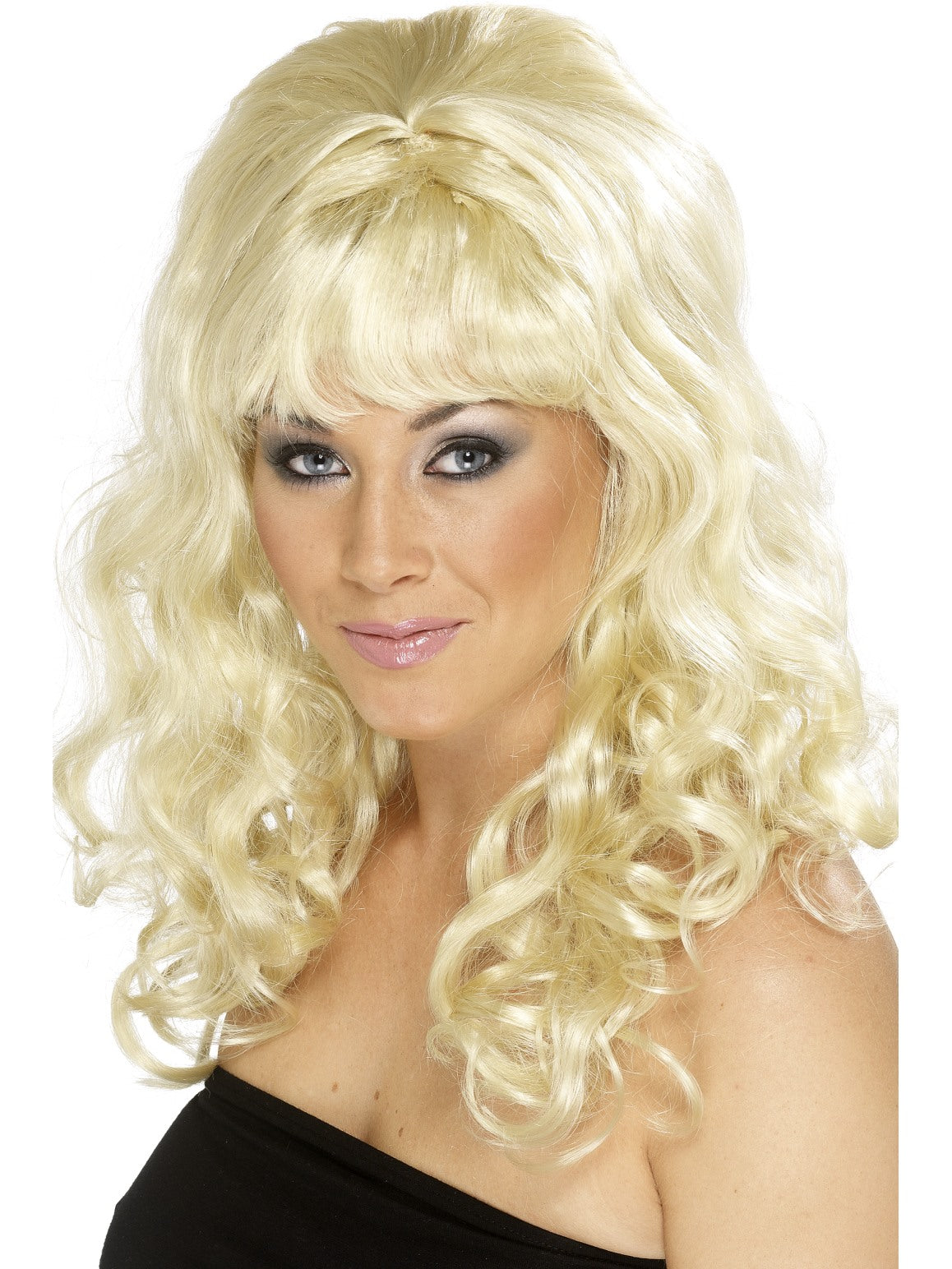 Blond Beehive Beauty Wig