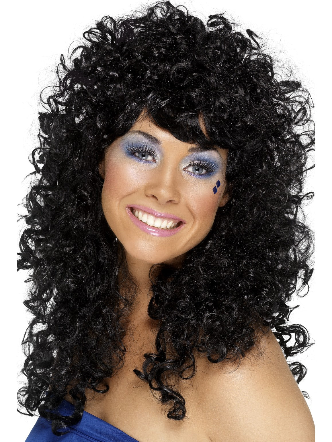 Black Boogie Babe Wig - Party Savers