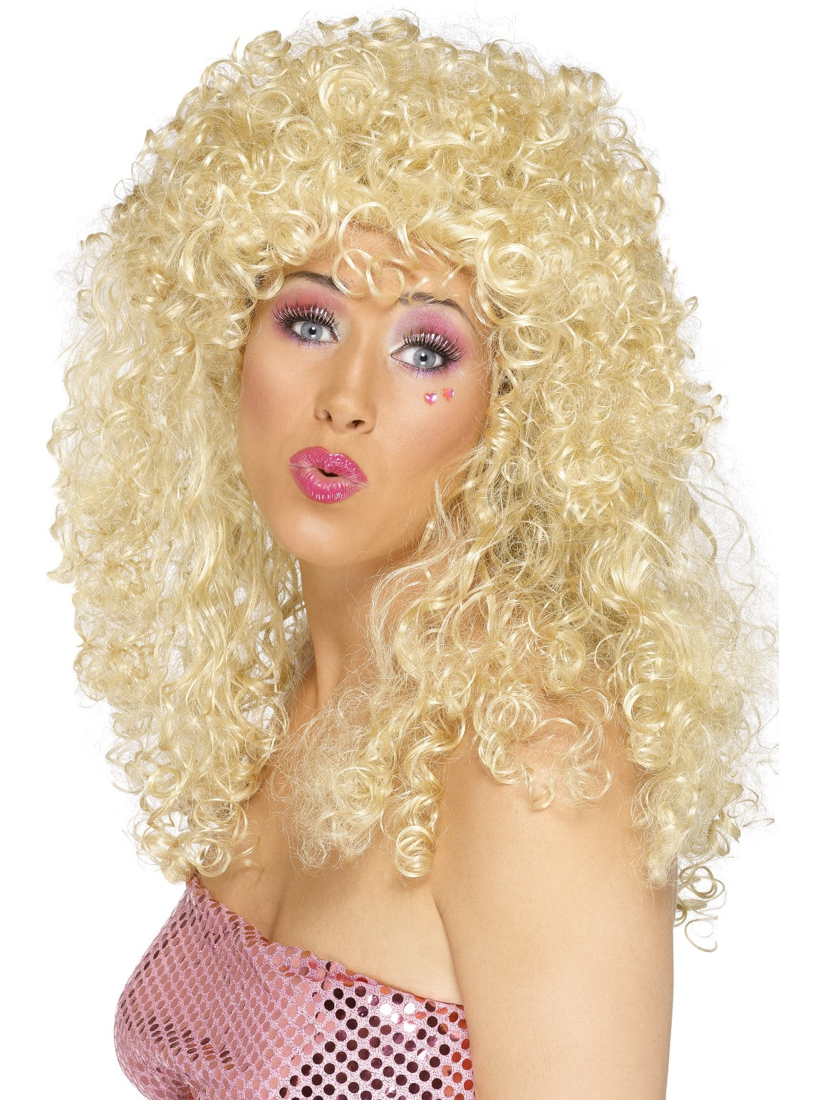 Blonde Boogie Babe Wig - Party Savers
