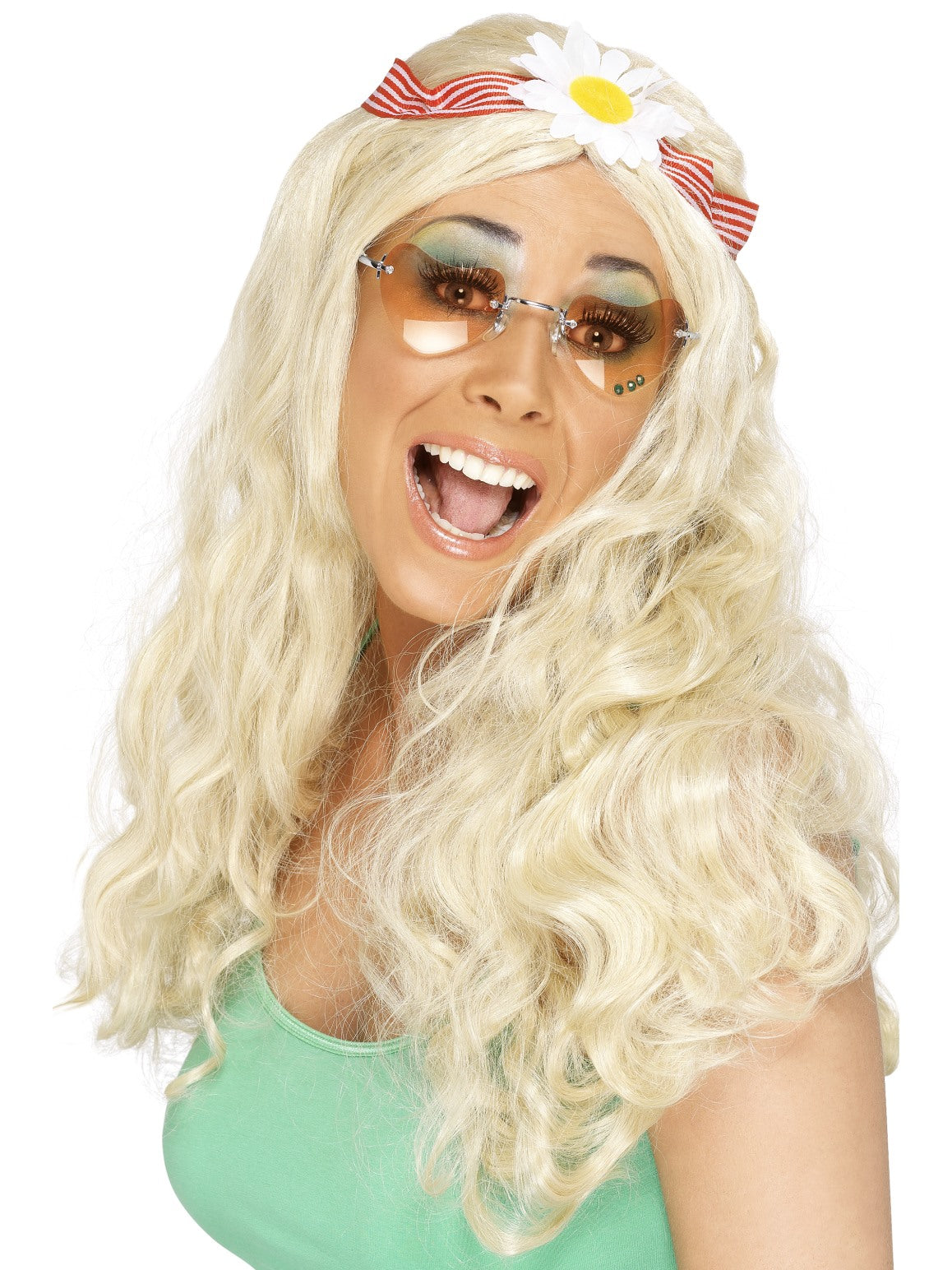 Blond Groovy Wig