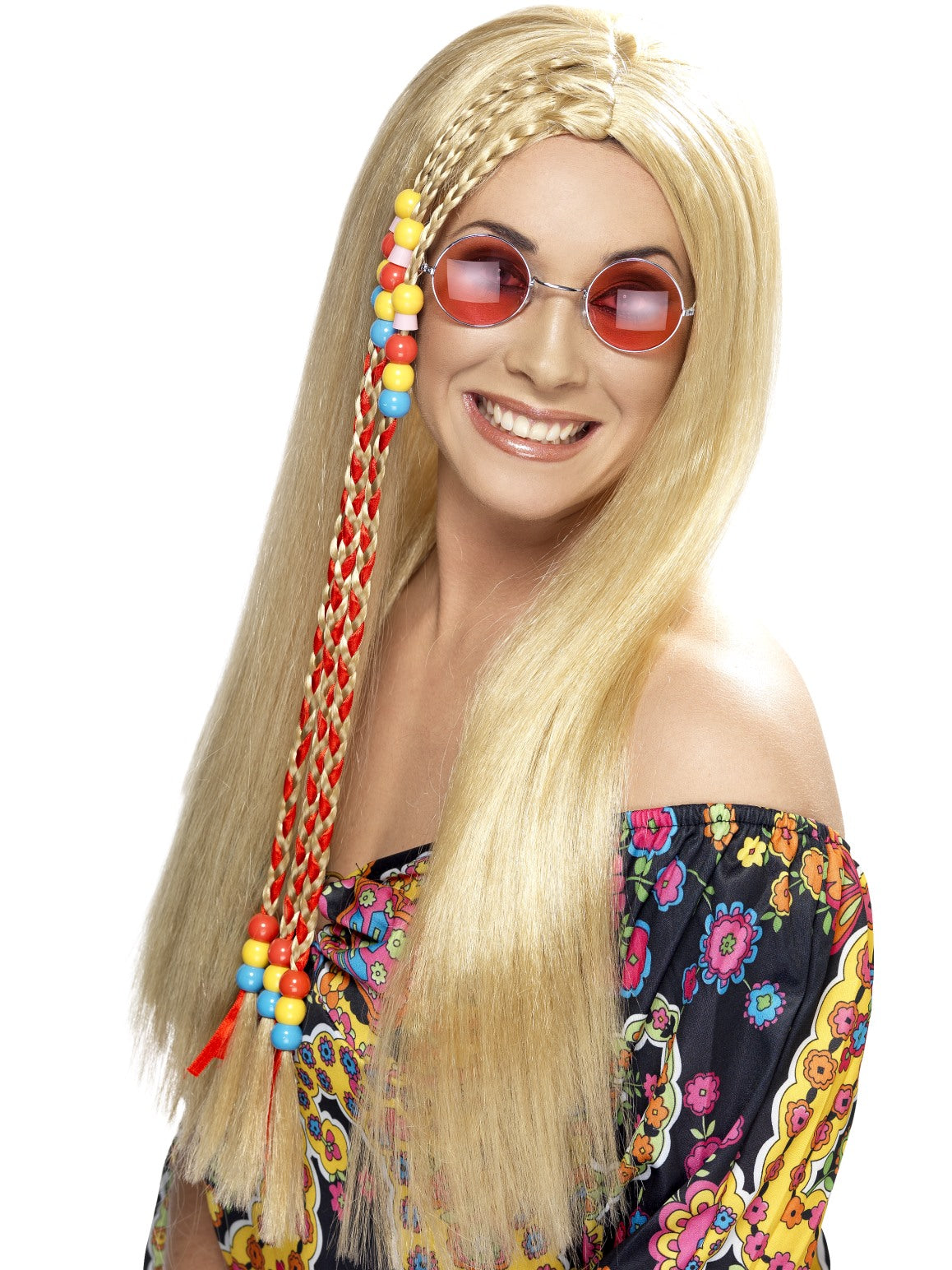 Blond Hippy Party Wig