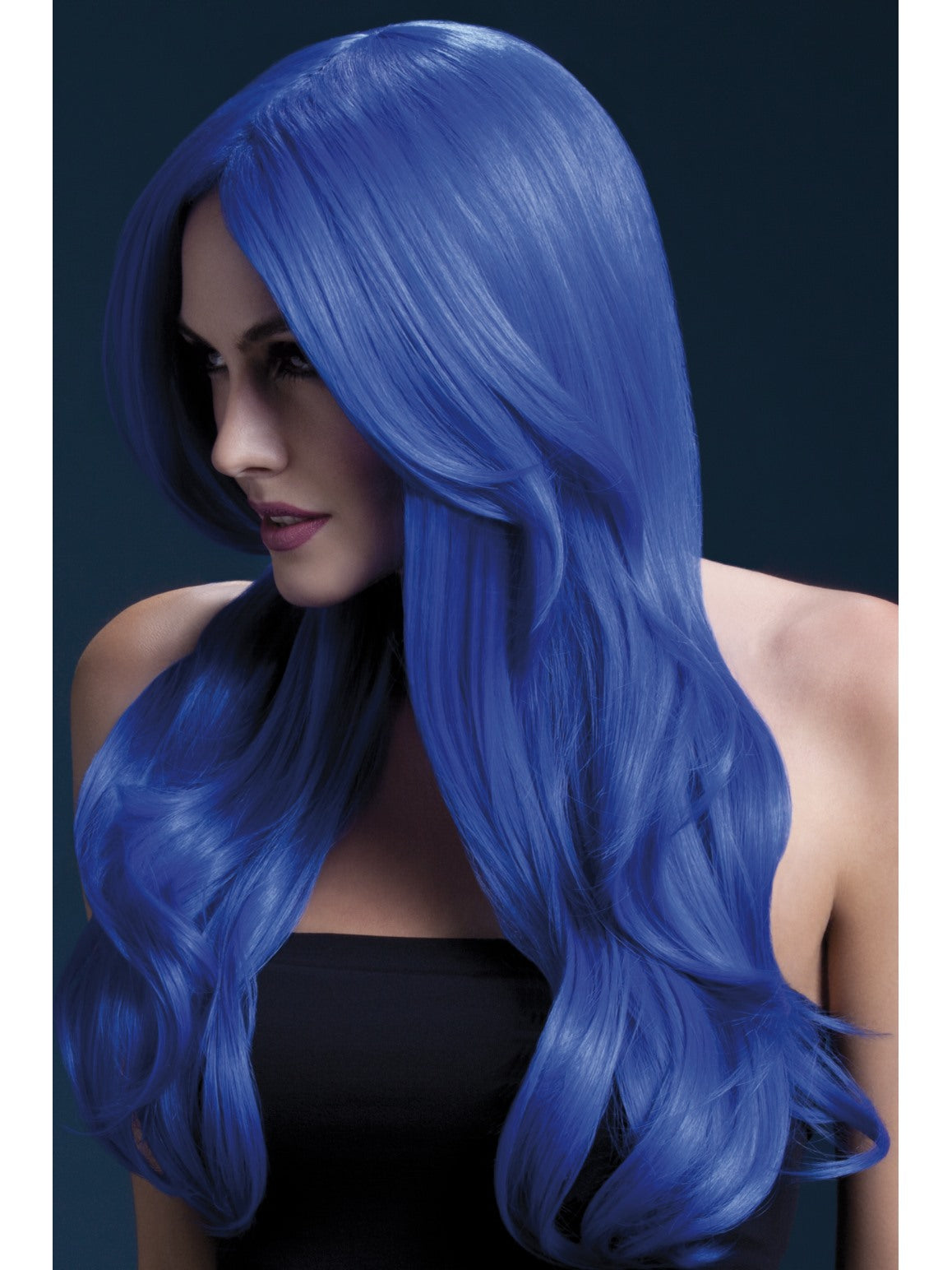Blue Fever Khloe Wig - Party Savers