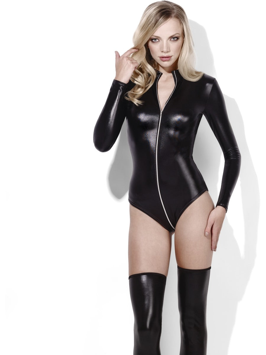 Women's Costume - Black Fever Miss Whiplash - Party Savers