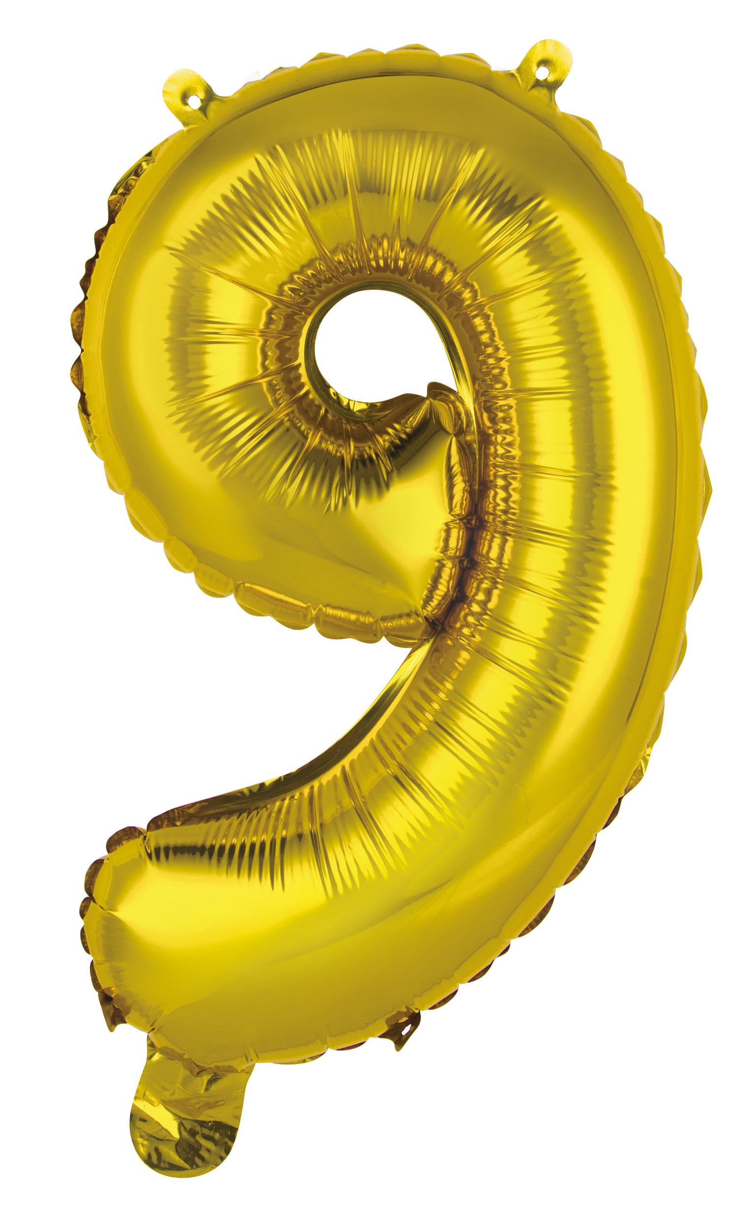 Number 9 Gold Foil Balloon 35cm