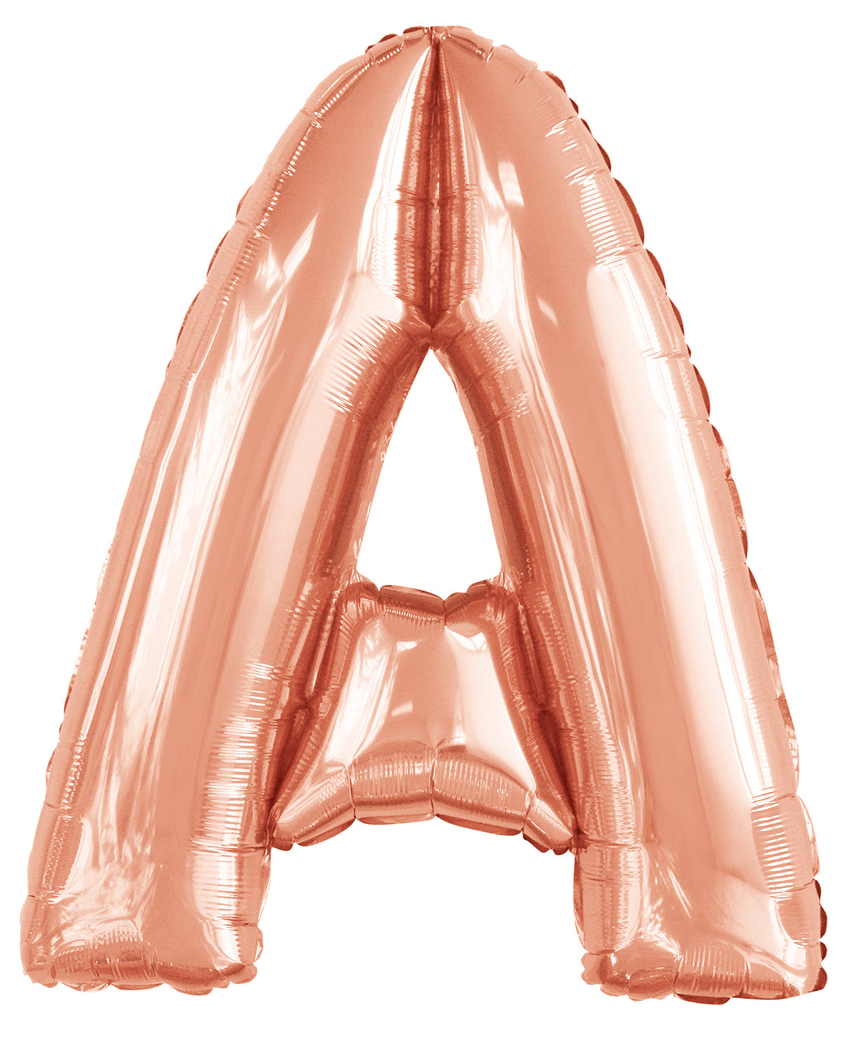 Letter T Rose Gold Foil Balloon 86cm - Party Savers
