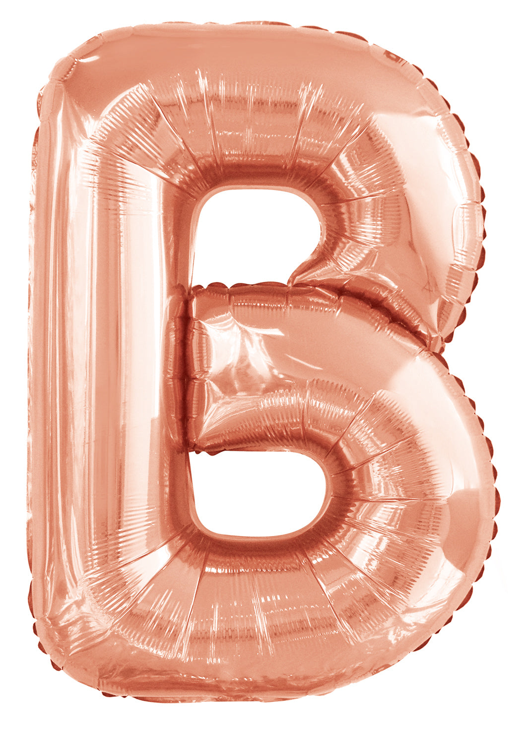 Letter H Rose Gold Foil Balloon 86cm - Party Savers