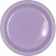 Lavender Plastic Lunch Plates 23cm 20pk - Party Savers