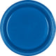 Royal Blue Plastic Banquet Plates 26cm 20pk - Party Savers