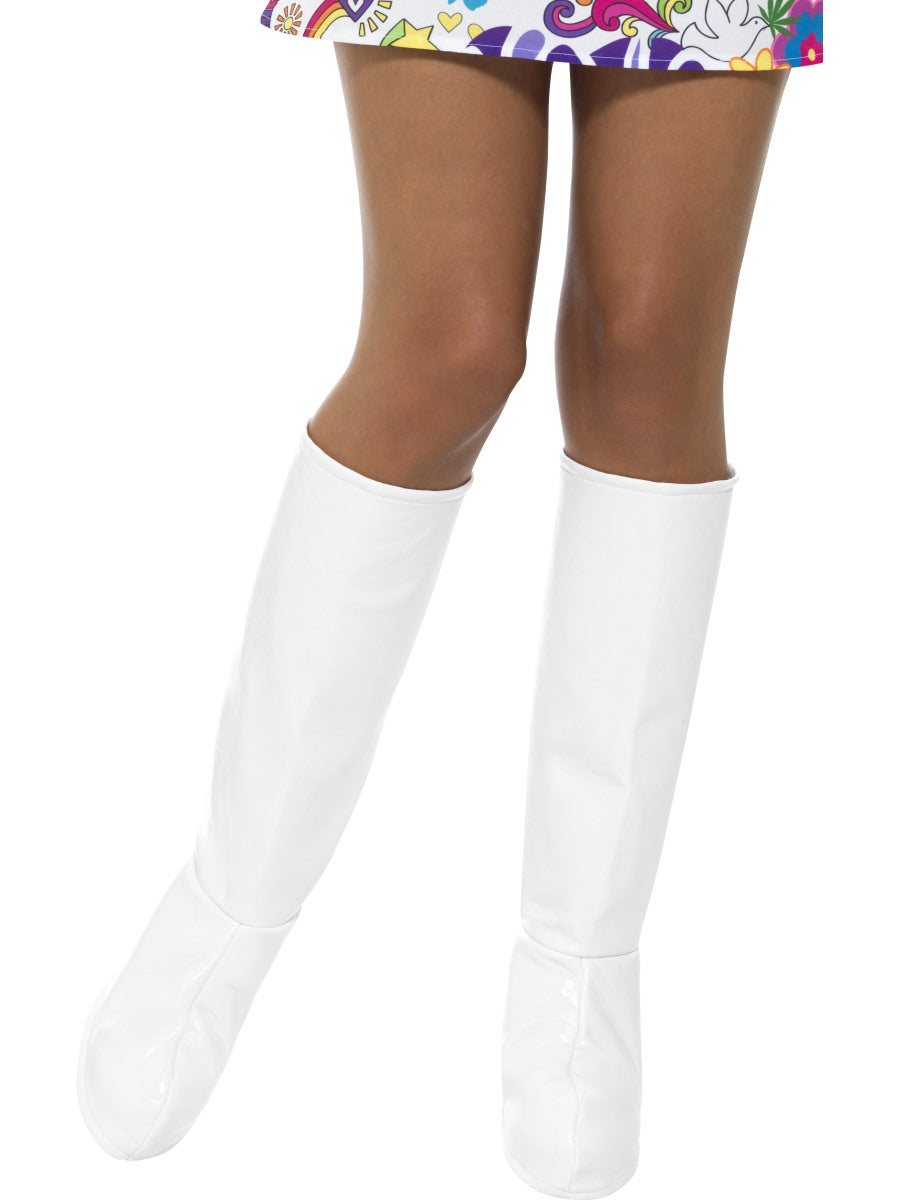 White GoGo Boot Covers