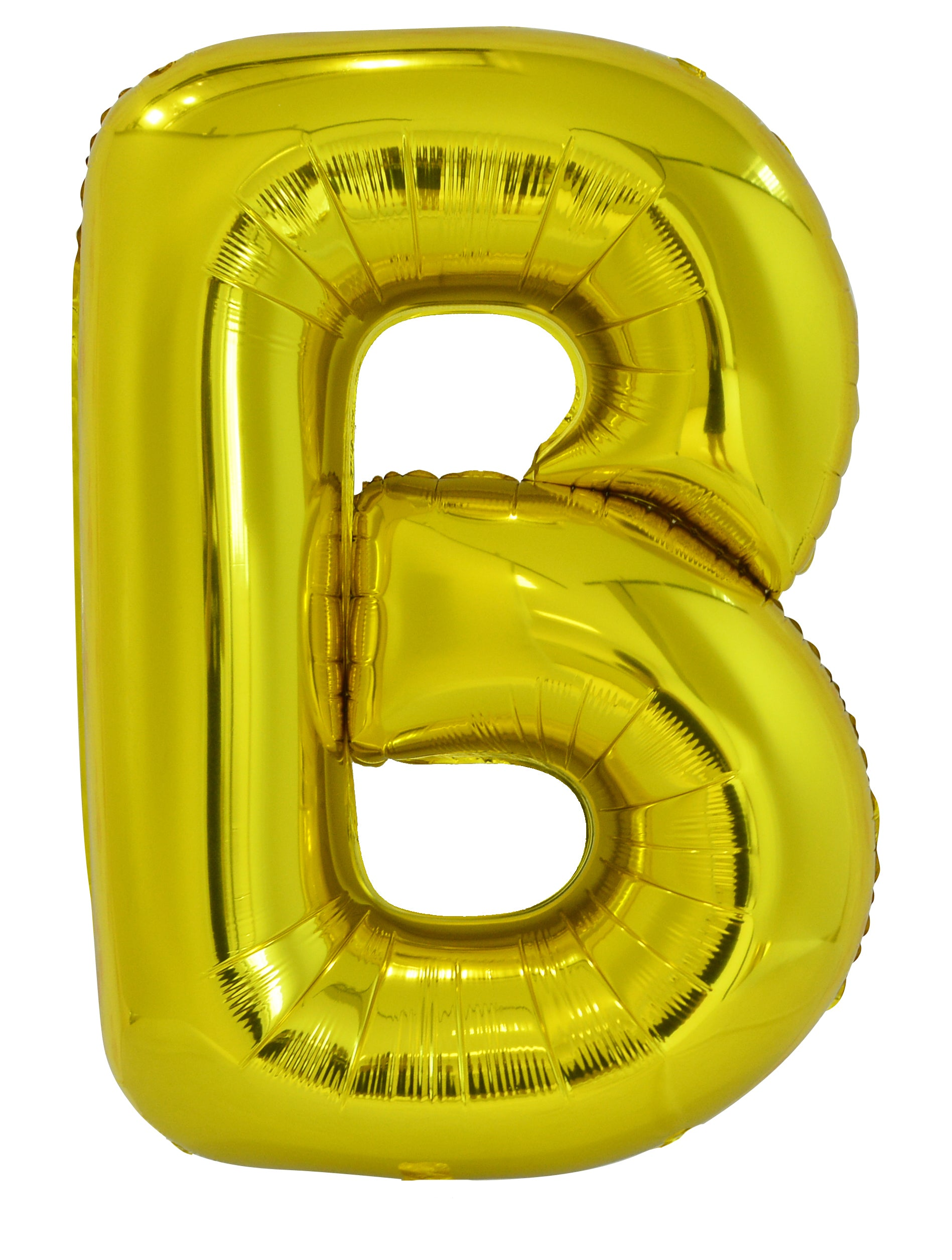 Letter E Gold Foil Balloon 86cm - Party Savers