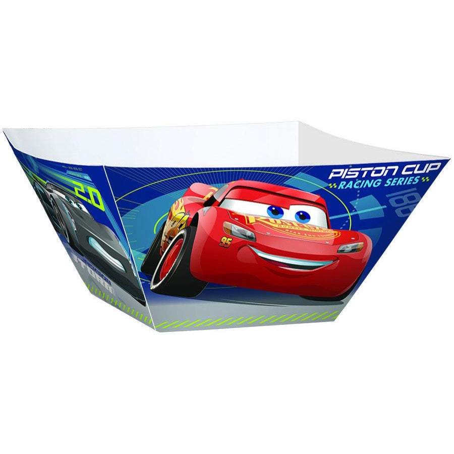 Cars 3 Paper Bowls 3pk - Party Savers